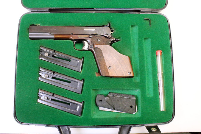 Matchpistole - Peter Stahl Multicaliber / Cal. .38WC