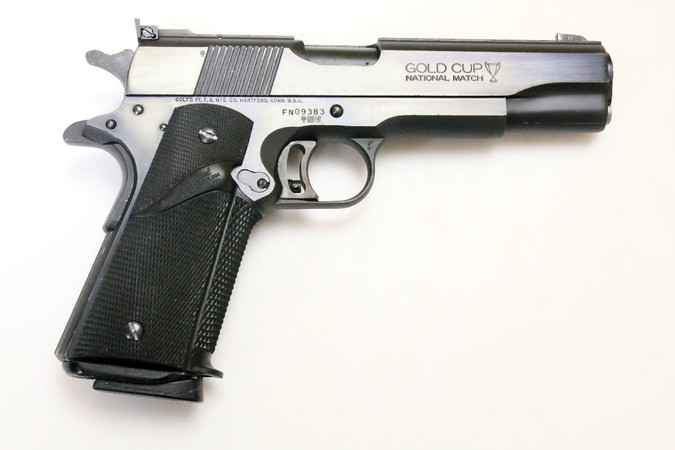 Pistole - Colt Mod. 1911 Series'80 MKIV Gold Cup National Match