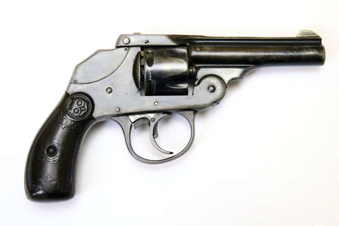 """Top-Break"" Revolver - Iver Johnson 1st Model ""Safety Automatic Hammerless"" (1896) 