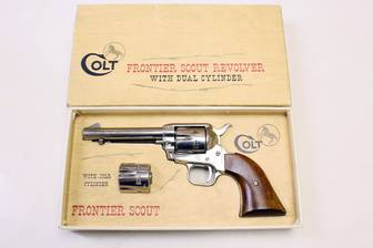 SAA Revolver - Colt Mod. Frontier Scout