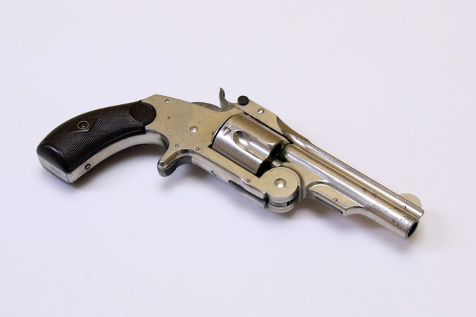 "Revolver - S&W Model No.2 Single Action (1. Ausführung) ""Baby Russian"" 1876 